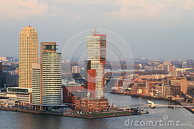 Modern Rotterdam Editorial Stock Image