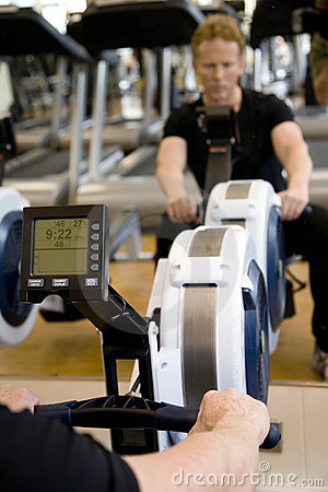 Modern rowing machine