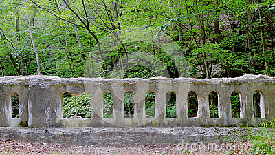 Modern Ruin Bridge Balusters