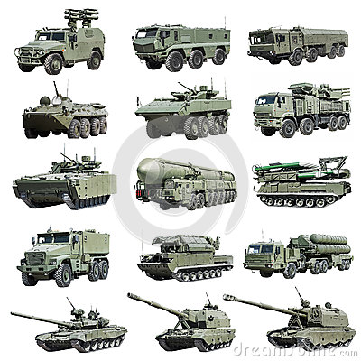 Free Modern Russian Armored Military Vehicle Tracked And Wheeled Royalty Free Stock Photos - 80128808