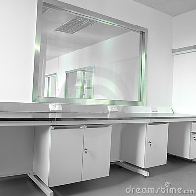 Modern science laboratory