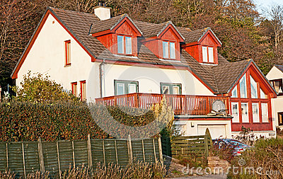Modern Scottish house