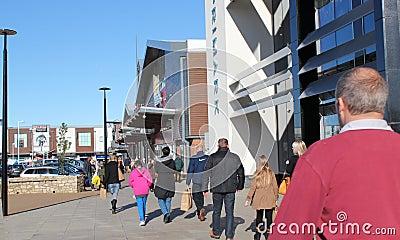 Modern Shopping Centre Editorial Photography