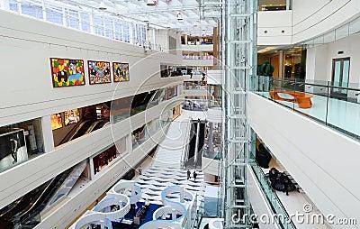 Modern shopping mall Editorial Photo