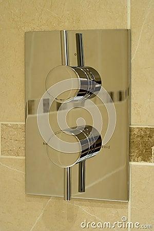 Modern shower controls