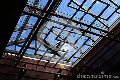 Modern skylight stock photo image 53123376 for Architectural skylights