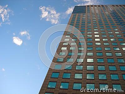 Modern skyscraper building