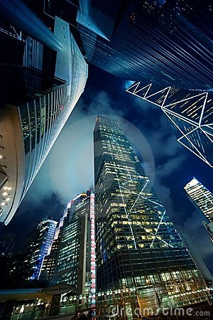 Free Modern Skyscrapers Royalty Free Stock Images - 12741839