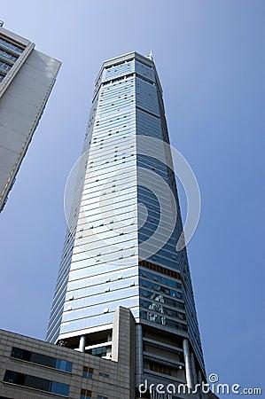 Modern skyscrapers in Shenzhen, China