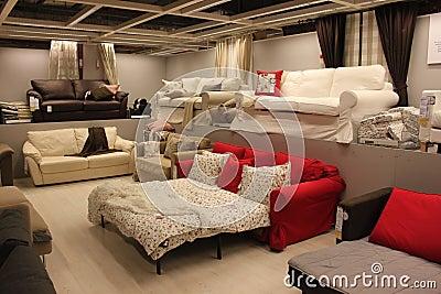 Modern sofas Editorial Photo
