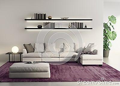 Vardagsrum vardagsrum soffa : Modernt Ljus - Grå Soffa I En Contemprary Vardagsrum Arkivfoto ...