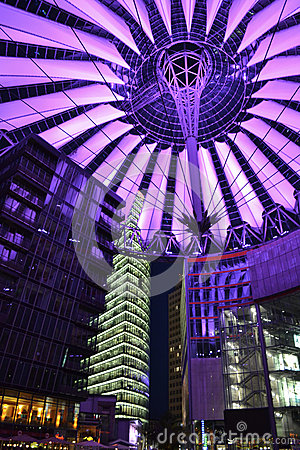Free Modern Sony Center Berlin Stock Photo - 32353120