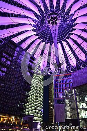 Modern Sony Center Berlin