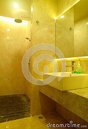 Modern spa interior design