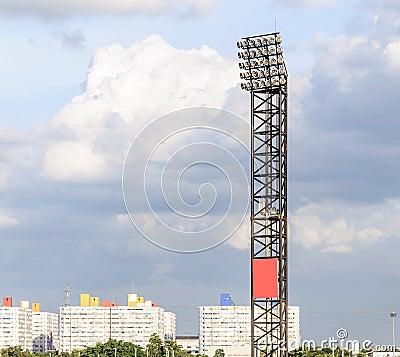 Modern spotlight pole
