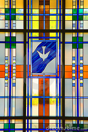 Free Modern Stained Glass Stock Image - 1315611