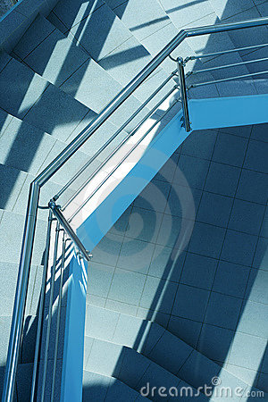 Free Modern Staircase Royalty Free Stock Image - 1969546