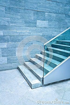 Free Modern Stairway Royalty Free Stock Image - 9765936