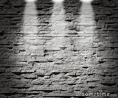 Modern stone wall decoration lights