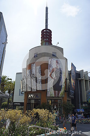 Modern Store Building