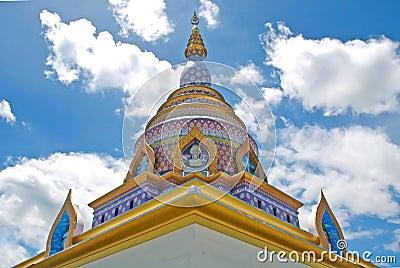 Modern stupa