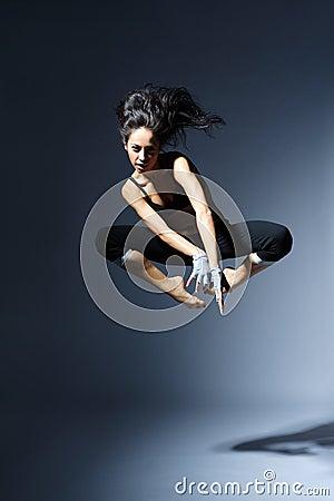 Modern style dancer