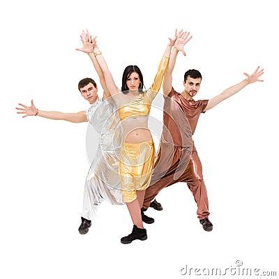 Modern style dancers
