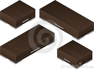 Modern Style Large Wooden Clos