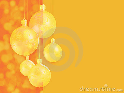 Modern styled warm red christmas decor.