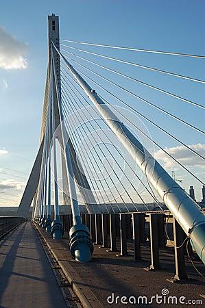 Modern Suspension Bridge
