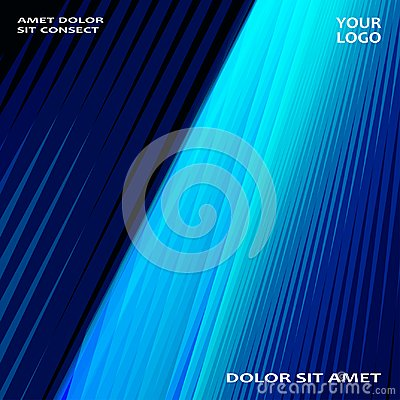 Free Modern Technology Striped Abstract Covers Design Blue. Neon Line Royalty Free Stock Photo - 102415915