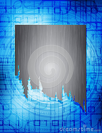 Technology theme background