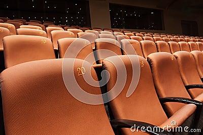 Modern theater interior