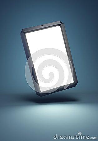Modern touchscreen smartphone