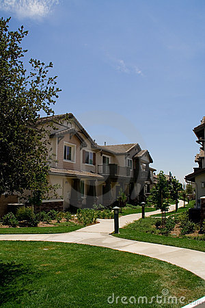 Modern Townhomes Royalty Free Stock Photos - Image: 2782718
