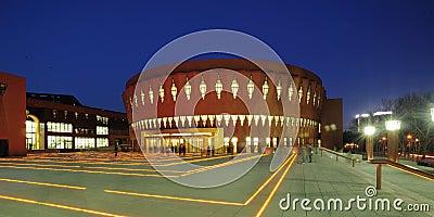 Modern Urban Auditorium