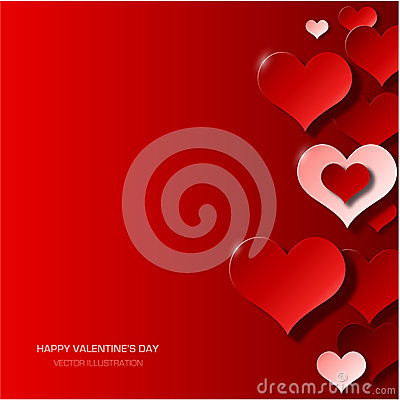 Free Modern Valentine S Day Background Stock Photography - 47334212