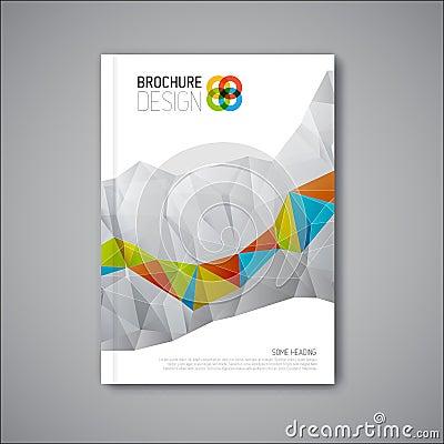 Free Modern Vector Abstract Brochure Design Template Stock Photos - 45802703