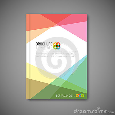 Free Modern Vector Abstract Brochure Design Template Stock Images - 46145374