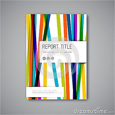 Free Modern Vector Abstract Brochure Design Template Stock Photo - 53885180