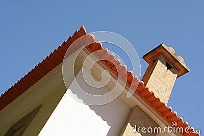 Modern villa perspective