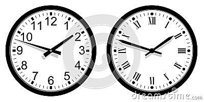 Modern and Vintage Clock