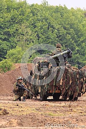 Modern warfare soldiers Editorial Image