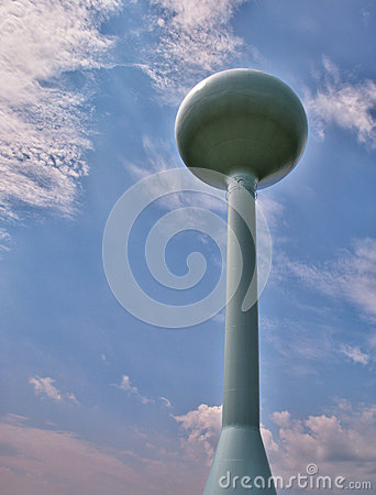 Modern Water Tower