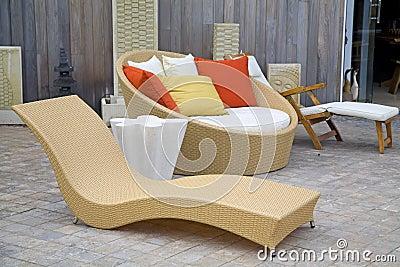Modern Wicker Garden Furniture