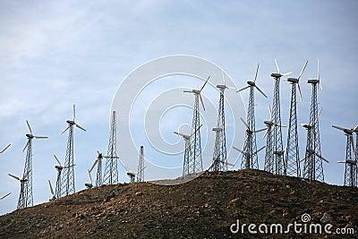 Modern wind energy
