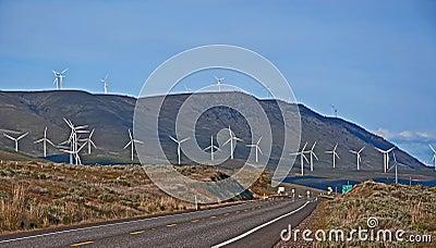 Modern Wind mal strömgeneratorer