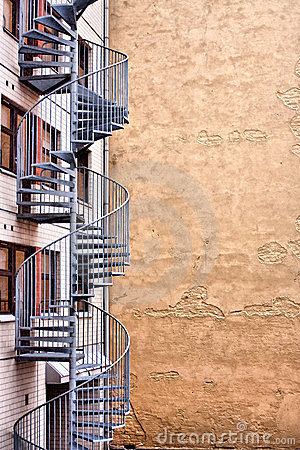 Free Modern  Winding Stairs In Helsinki Royalty Free Stock Image - 8231336