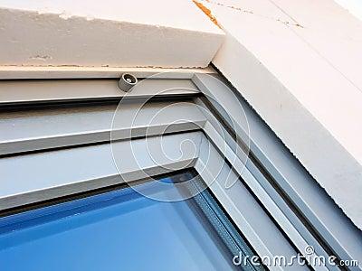 Modern windows installation detail