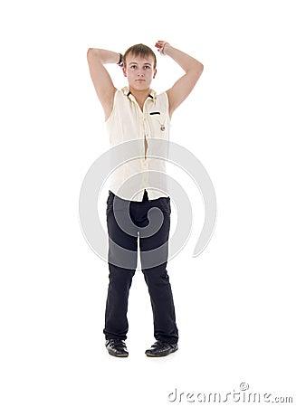 Modern Young Macho Man